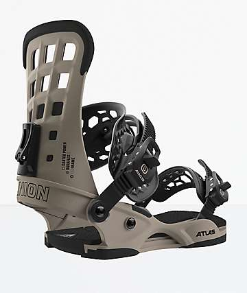 Union Atlas Grey Snowboard Bindings 2019