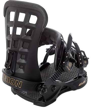 Union Atlas Matte Black Snowboard Bindings