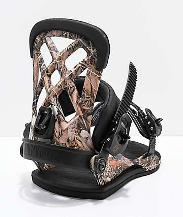 Union Contact Pro Camo Snowboard Bindings 2019