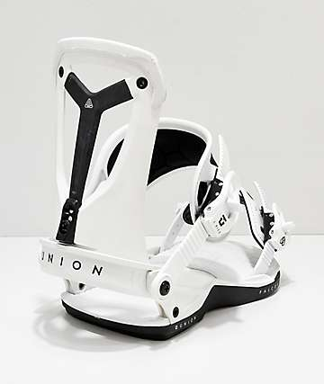 Union Falcor White Snowboard Bindings 2019