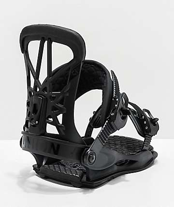 Union Flight Pro Black Snowboard Bindings 2020