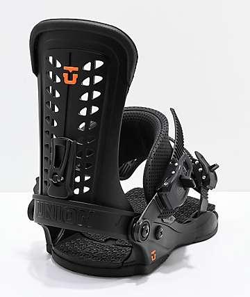 Union Force 2019 fijaciones de snowboard en negro