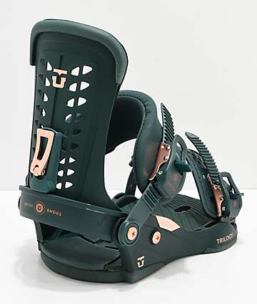 Union Green Women's Trilogy Snowboard Bindings