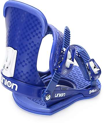 Union Milan Violet Womens Snowboard Bindings