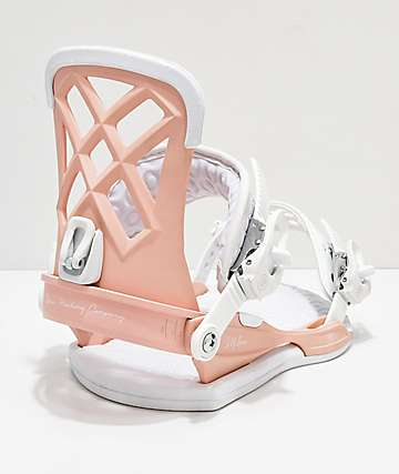 Union Women's Milan Pink Snowboard Bindings 2019