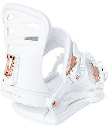 Union Womens Juliet White Snowboard Bindings