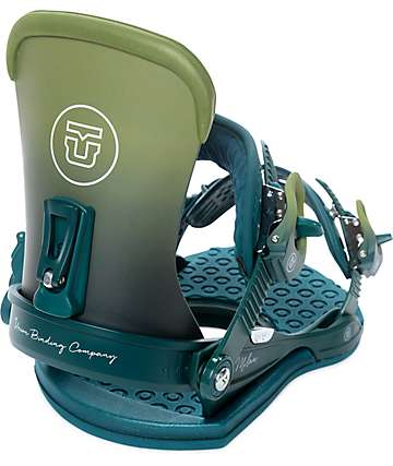 Union Womens Milan Olive Snowboard Bindings