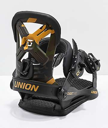 Union Youth Cadet Pro Camo Snowboard Bindings 2019