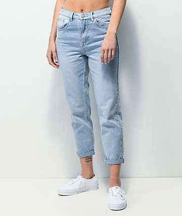 Unionbay Madonna High-Rise Blue Crush Mom Jeans