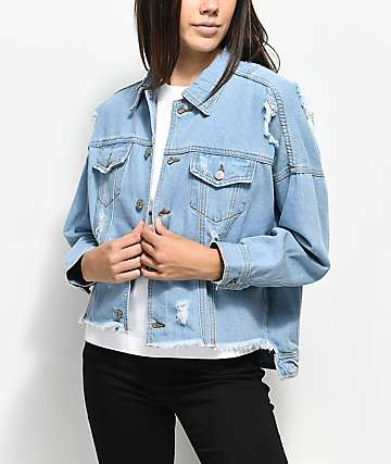 Unionbay Vintage Distressed Denim Jacket