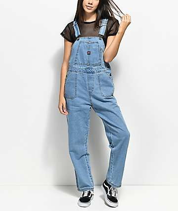 Unionbay Vintage Light Wash Overalls