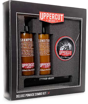 Uppercut Deluxe Pomade 3 Piece Combo Kit
