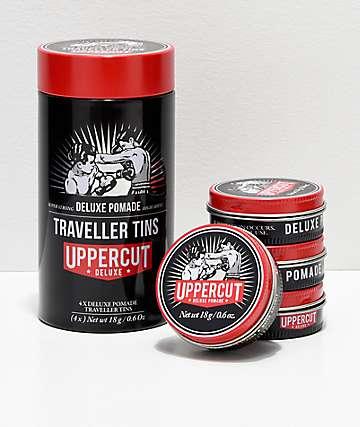 Uppercut paquete de 4 latas de pomadas de viaje