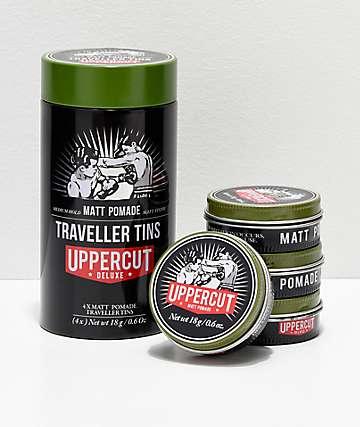 Uppercut paquete de 4 latas de pomadas mate