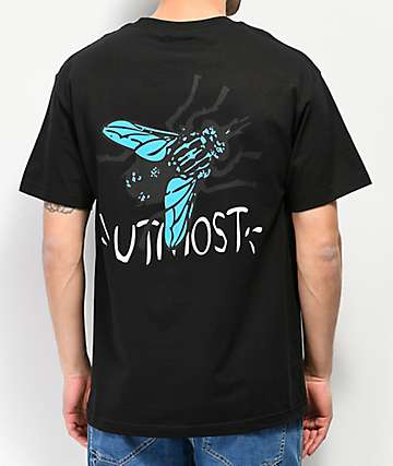 Utmost Fly Black T-Shirt