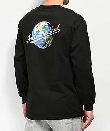 Utmost International camiseta negra de manga larga