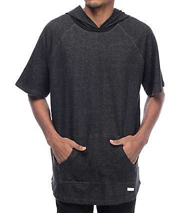 VSOP Melo Black Short Sleeve Hoodie