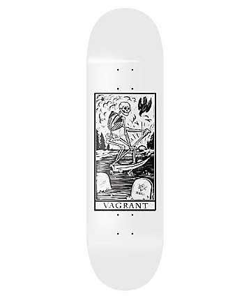 "Vagrant Deathcard White 8.6"" Skateboard Deck"