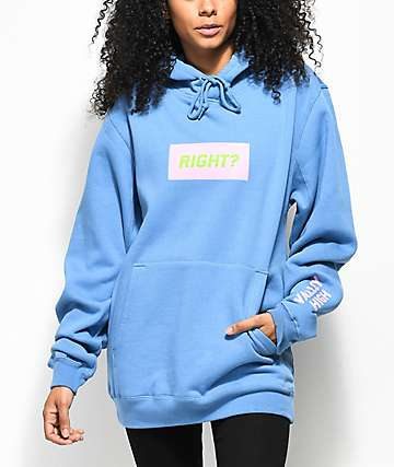 Valley High Right Blue Hoodie