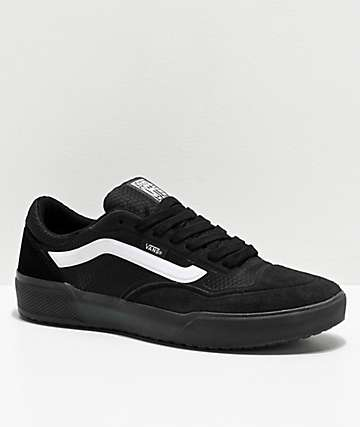 Vans A.V.E. Pro Black & White Skate Shoes