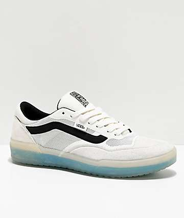 Vans A.V.E. Pro Blanc De Blanc White & Black Skate Shoes