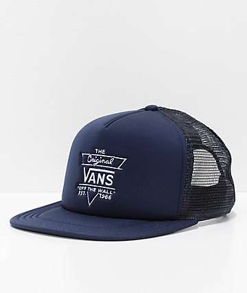 Vans Allendale Dress Blue Trucker Hat