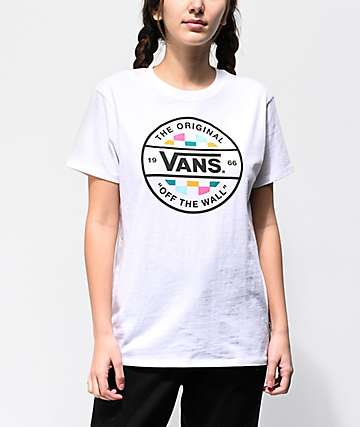 2721f8dd89 Vans Alley Way White T-Shirt