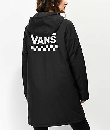 Vans Alliance Black Elongated Windbreaker Jacket