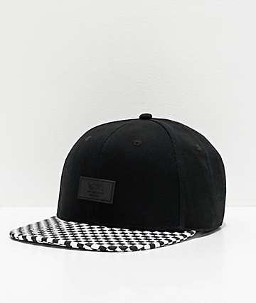 Vans Allover It Black Snapback Hat