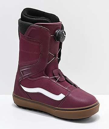Vans Aura OG 2019 botas de snowboard en rojo y goma