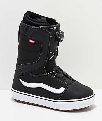 Vans Aura OG Black & White Snowboard Boots 2019