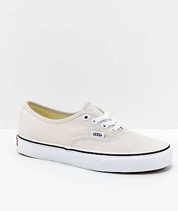 Vans Authentic Birch & White Skate Shoes