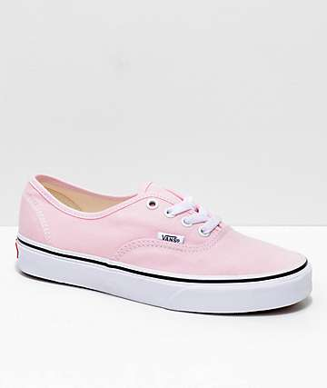 Vans Authentic Chalk Pink   True White Shoes 0237071bb51