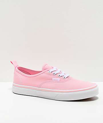 Vans Authentic Chalk Pink Skate Shoes