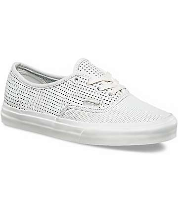 Vans Authentic DX Blanc De Blanc Perforated Shoes
