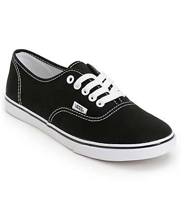 Vans Authentic Lo Pro Black Shoes