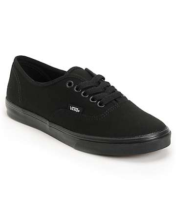 Vans Authentic Lo Pro zapatos negros
