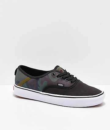 Vans Authentic SF Comfy Cush Camo Skate Shoes