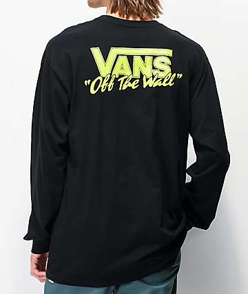 Vans BMX Off The Wall Black Long Sleeve T-Shirt