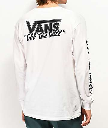 Vans BMX Off The Wall White Long Sleeve T-Shirt