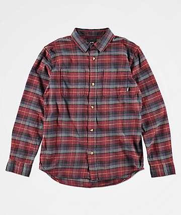 Vans Banfield Port Royale camisa de franela para niños