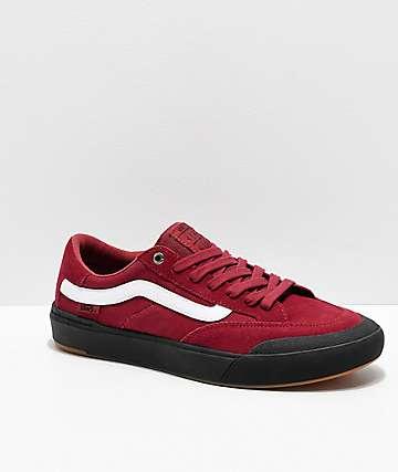 Vans Berle Pro Rumba Red & Black Skate Shoes