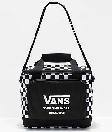 Vans Black & White Checkered Cooler Bag