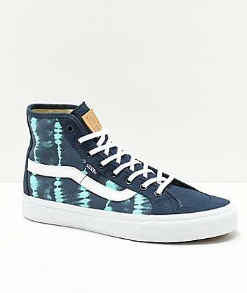 Vans Black Ball Hi SF Leila Tie Dye Shoes