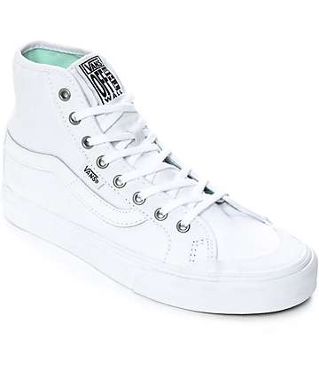 Vans Black Ball Hi SF White Shoes