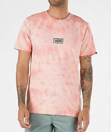 Vans Bleached Out Pink Crystal Wash T-Shirt