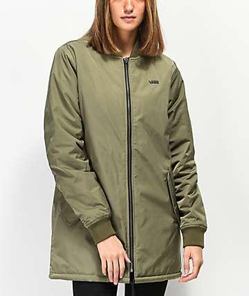 Vans Boom Boom MTE chaqueta oliva reversible