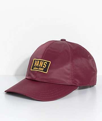 Vans Boom Boom Maroon Hat