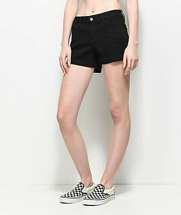 Vans Boyfriend II Black Shorts