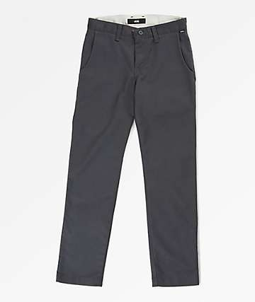 Vans Boys Authentic Asphalt Stretch Chino Pants